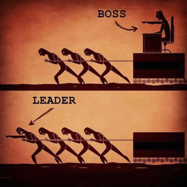 Don't be 'like a boss'. Be a leader.